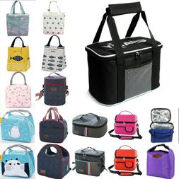 Insulated Lunch Box Lunch Bag Thermal Bento Bag for Men Wome