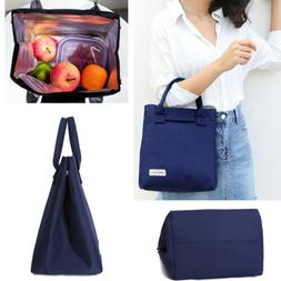Insulated Lunch Box Picnic Bag School Work Cooler Bag for Wo