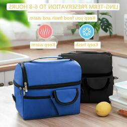 insulated lunch box tote bag travel men
