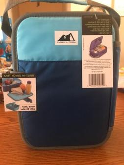 Arctic Zone Insulated Lunch Box Zipperless Lid Built-In Lunc