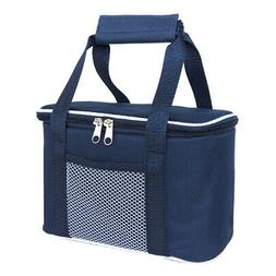 Insulated Lunch Ice Bag Tote Boxes Camping Picnic Cooler Con