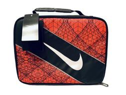 Nike Large Insulated Lunchbox - black/university red, one si