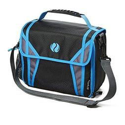 Fit & Fresh Sport Insulated Messenger-Style Lunch Bag, with