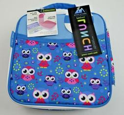 Arctic Zone Insulated  Owl Lunch Bag with Bonus Bottle Ice P