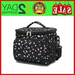 Insulated Reusable Lunch Bag Adult Large Lunch Box For Women