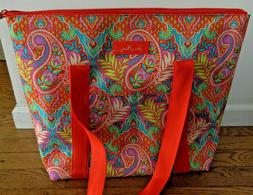 Vera Bradley Insulated Tote Bag PAISLEY IN PARADISE