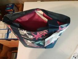 insulated tote floral bag lunch box