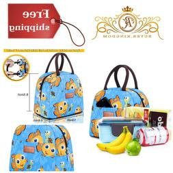 Insulated Travel Lunch Box Bag Container For Women Men Kids