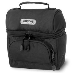 J World New York Corey Lunch Bag, Black, One Size
