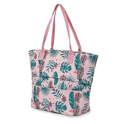 J World New York Kids' Lola Lunch Tote Travel, Palm Leaves,