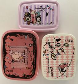 Japanese Bento Box Lunch Sentimental Circus Container Triple