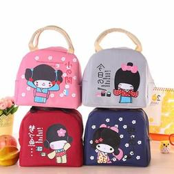 Japanese Bento Portable Insulation Lunch Boxes Thickening Lu
