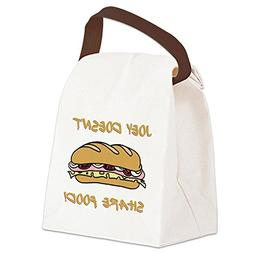 CafePress - JOEY DOESNT SHARE FOOD! - Canvas Lunch Bag with