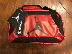 Jordan Insulated Tote Lunch Bag Small Duffle Red Box NWT