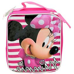 Disney Jr. Soft Rectangular Insulated Lunch Bag - Minnie Mou