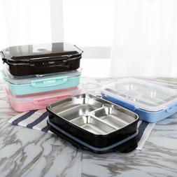 Kids Adult Lunch Bento Box Stainless Portable Picnic School