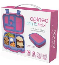 Bentgo Kids Brights – Leak-Proof, 5-Compartment Bento-Styl