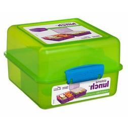 Sistema KLIP IT Lunch Box Cube 1.4 L Travel Fresh Food Conta