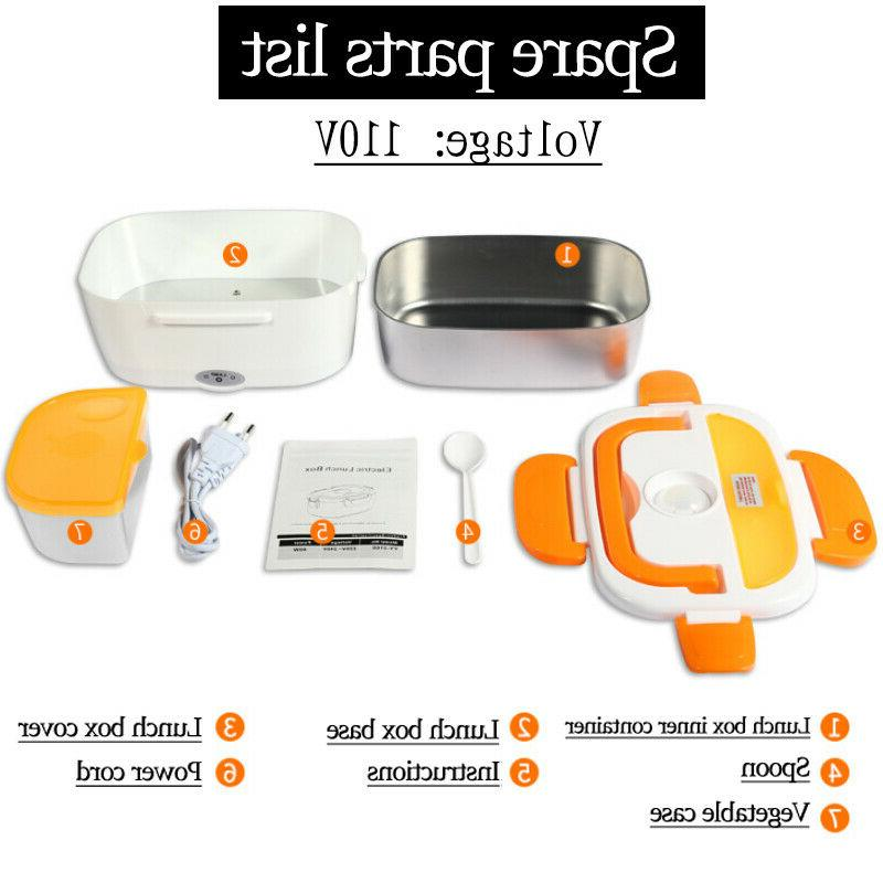110V ELECTRIC Heated Plug Heating LUNCH Portable