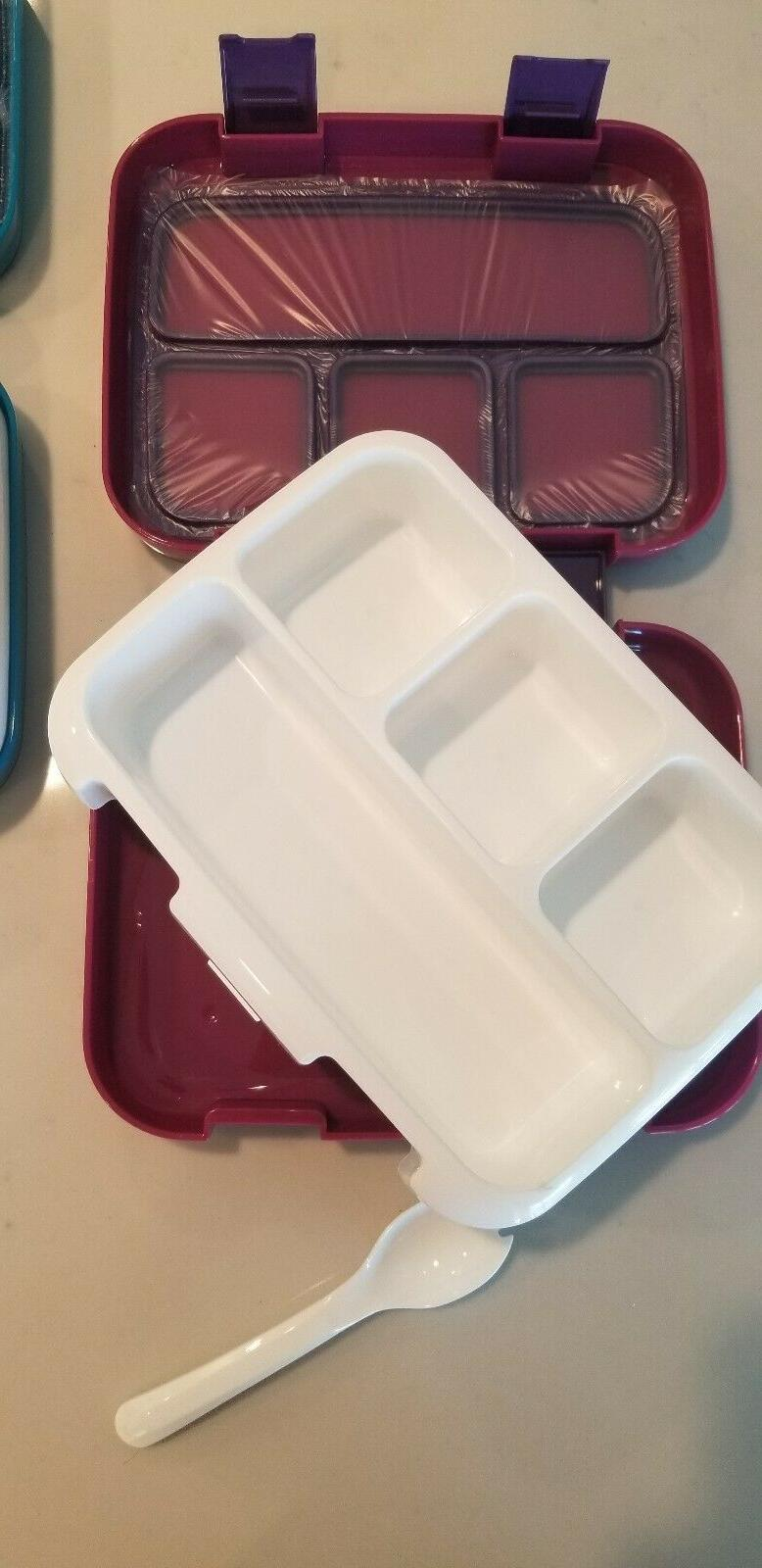 2 Lunch 4-Compartment Meal Prep