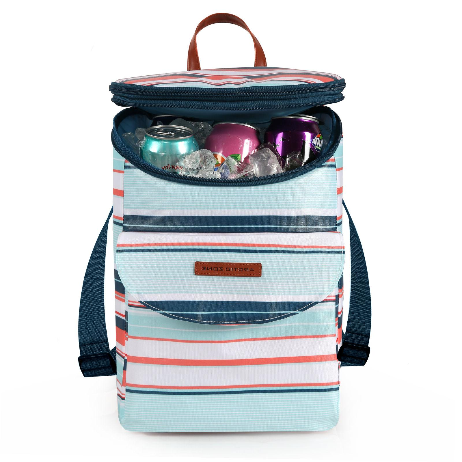 Arctic Can Lunch Box Beach Lake Insulated Backpack Cooler,