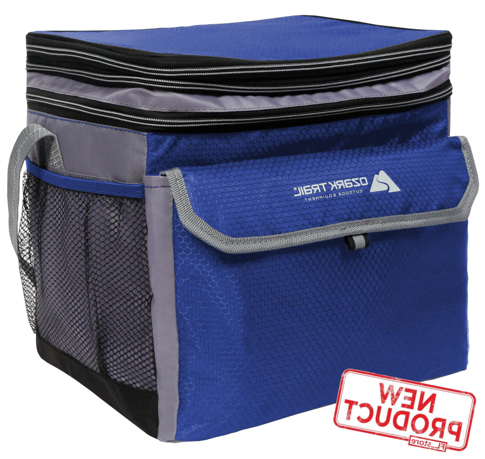 24 can lunch box cooler bag expandable