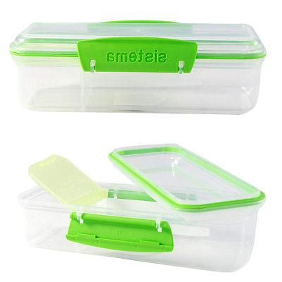 Meal Prep Containers Boxes Kids With Dividers