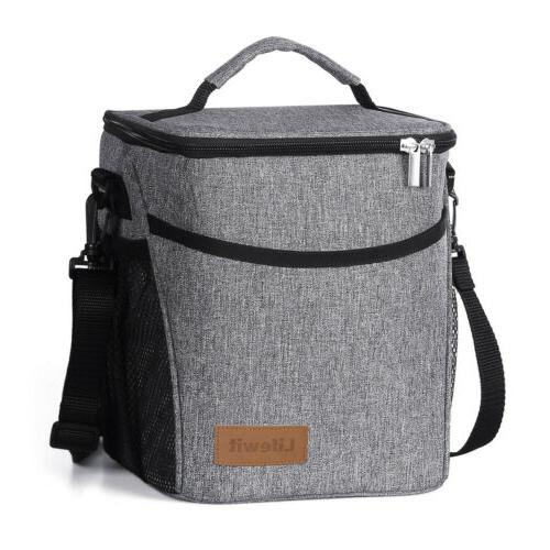 6l insulated lunch box lunch bag thermal