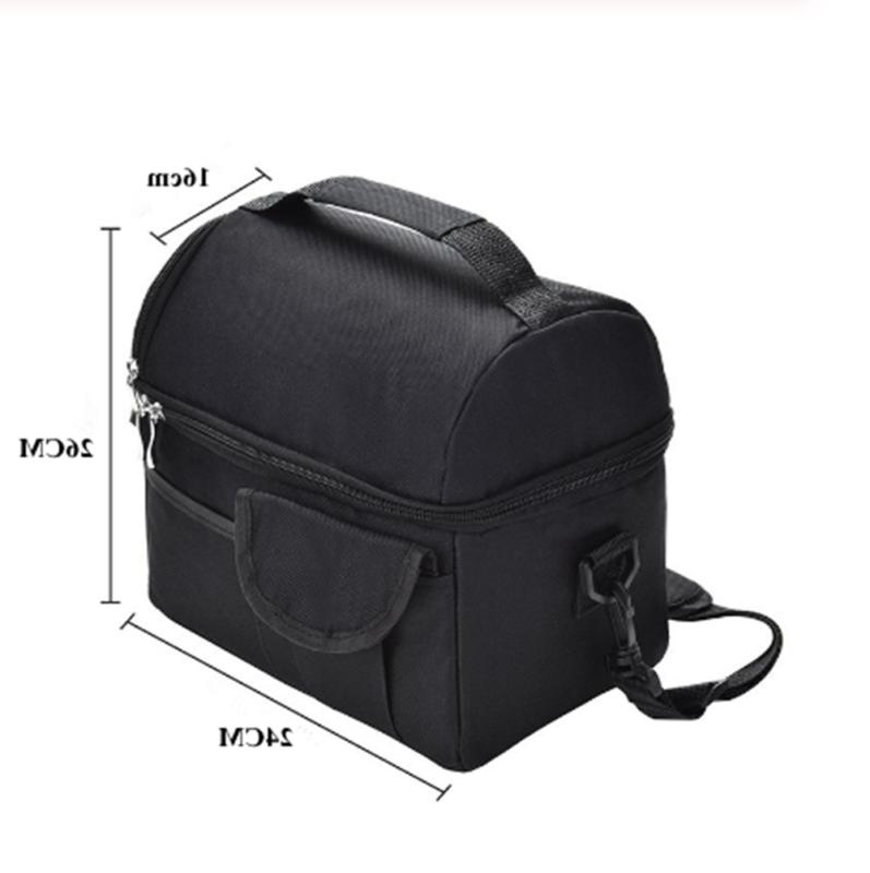 Insulated Lunch Bag Women Men Kids Thermos Cooler Adults Tote