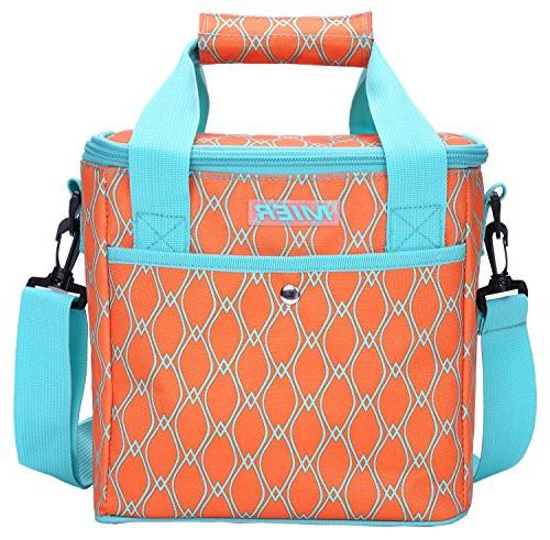 9 can insulated lunch bag