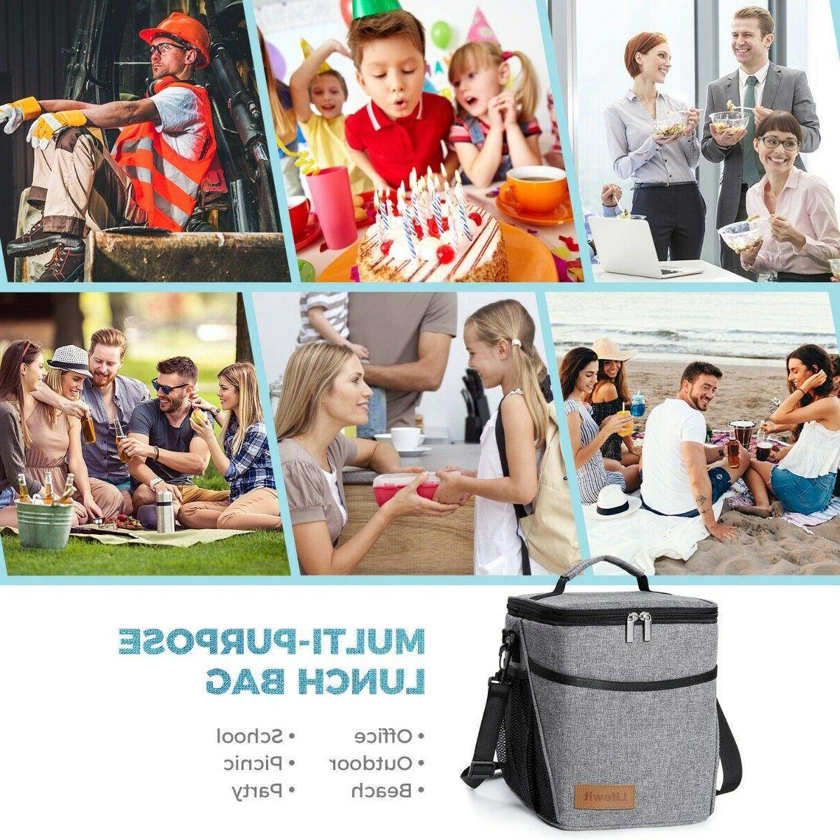 9L Insulated Bag For Cooler Lunch