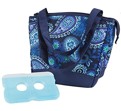 Fit & Fresh Hyannis Insulated Lunch Bag for Women, Girls, So