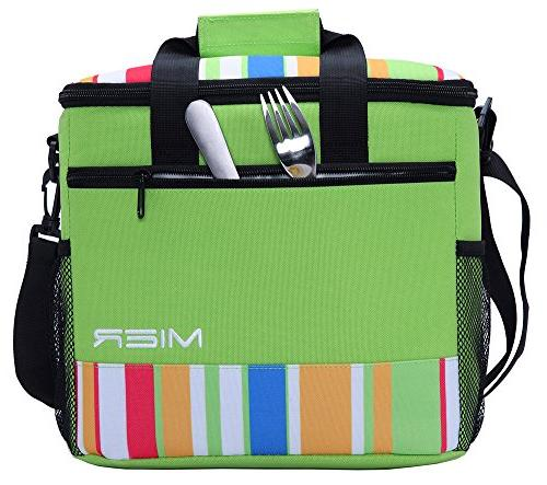 MIER 24-can Large Soft Tote Lunch Outdoor