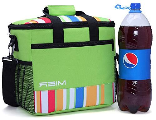 MIER Soft Cooler Tote Insulated Outdoor Picnic