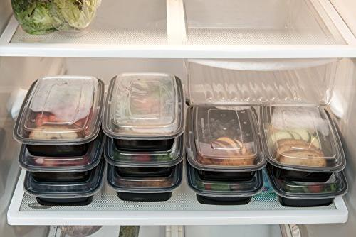 Reusable Food 1 Compartment Prep Container, Meal Meal Containers, Meal Containers, Containers
