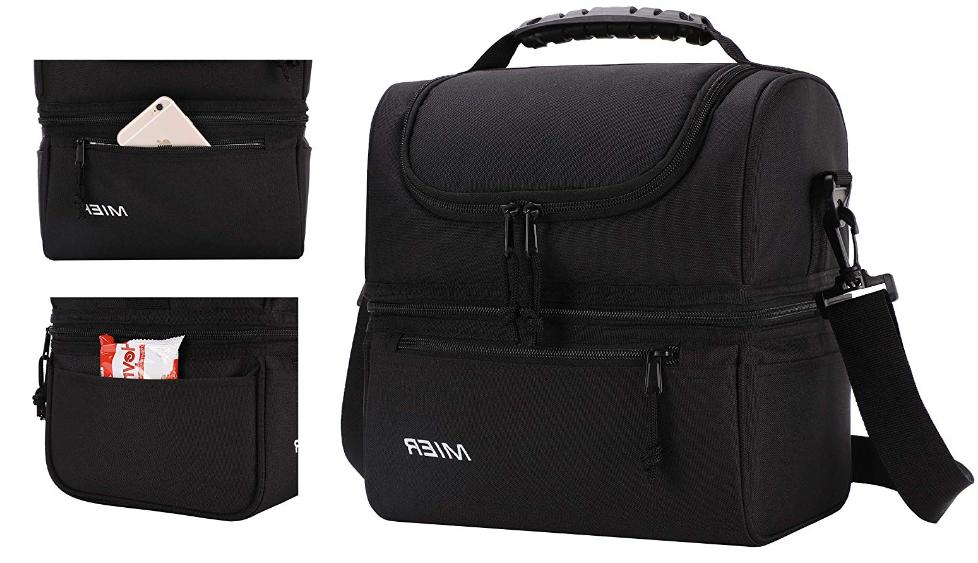 MIER Insulated Double Decker Bag Cooler