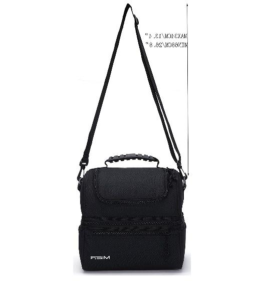 MIER Insulated Double Decker Bag