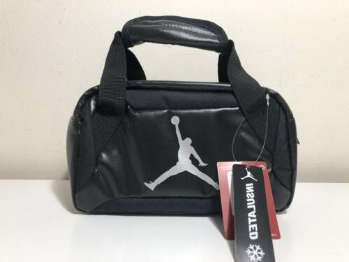 air black insulated lunch box tote lunchbox