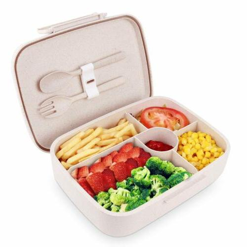 bento lunch box microwave food storage container