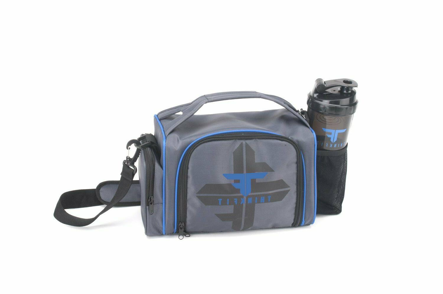 Best Lunch Bag Cup Container Bag Blue