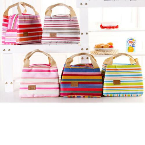 Big Insulated Lunch Bag for Women Cooler Box Storage
