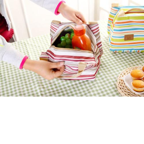 Big Insulated for Women Men Cooler Lunch Box Picnic Storage