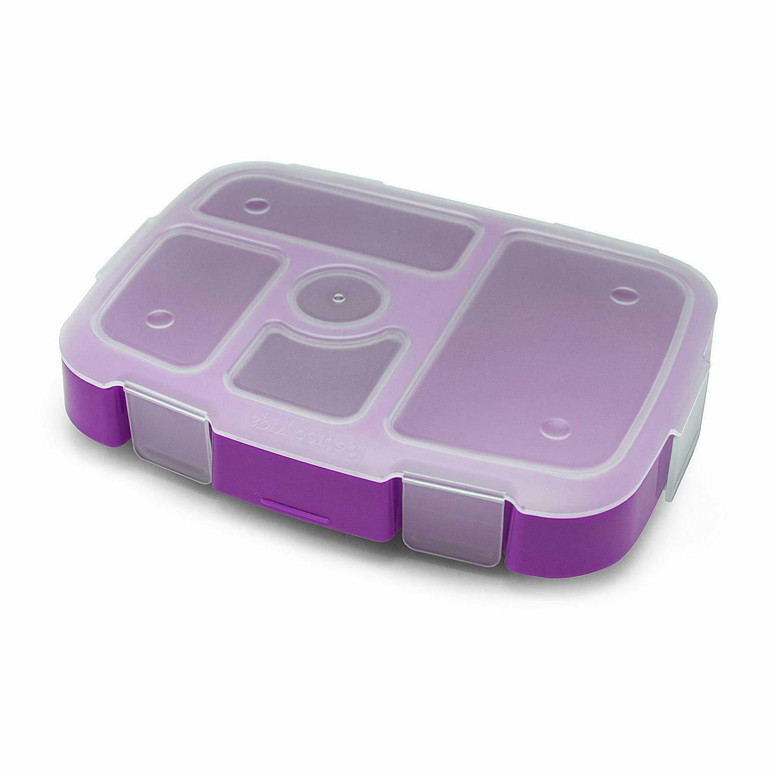 bpa free fda approved kids bento compartment