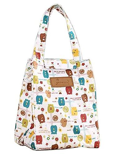 cartoon lunch picnic bento bags