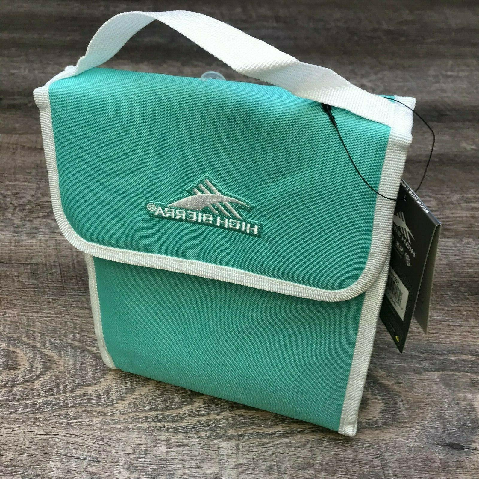 classic lunch bag 5l mint green new