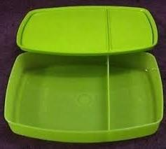 Tupperware Classic Slim Lunch Box, Green
