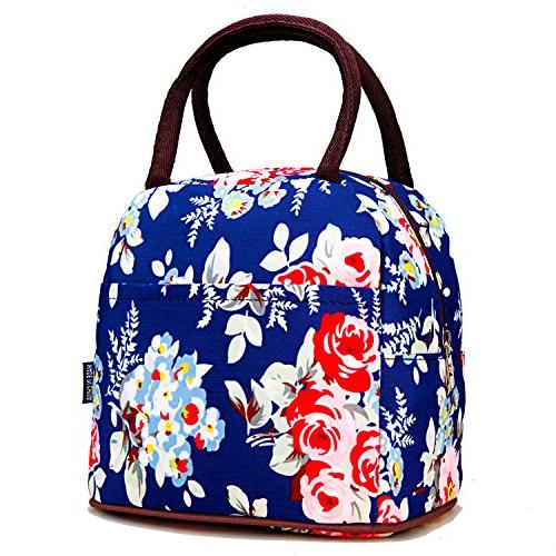 colorful polyester lunch bag