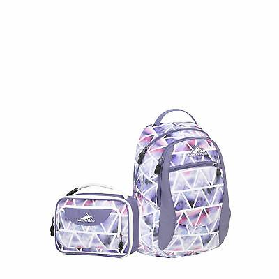 curve backpack and lunchbox set