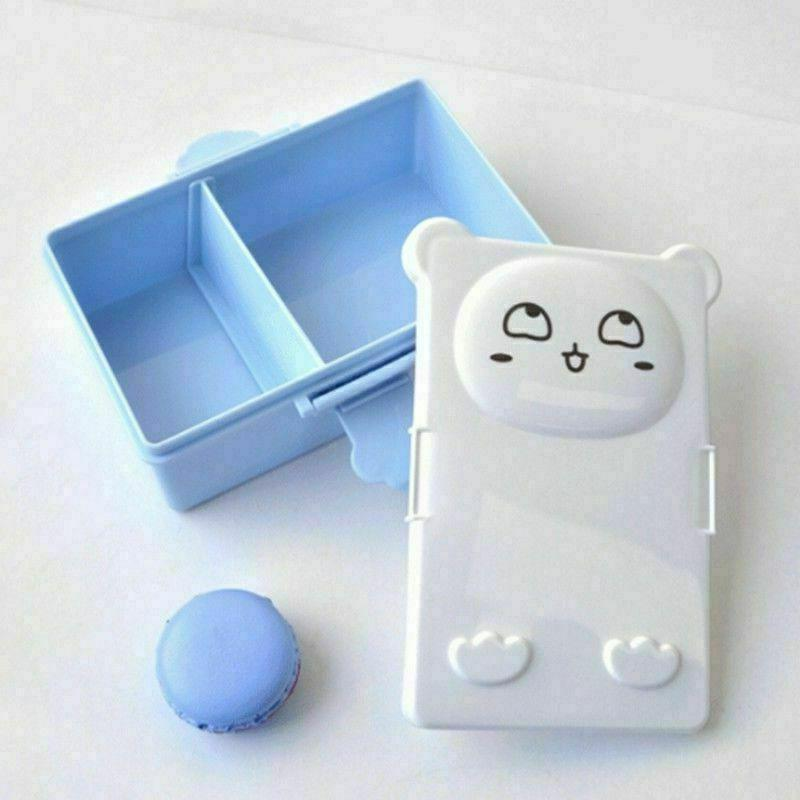 Cute Cat Portable Lunch Box Fruit Container -School Home