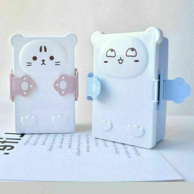 Cute Cat Portable Lunch Fruit Home